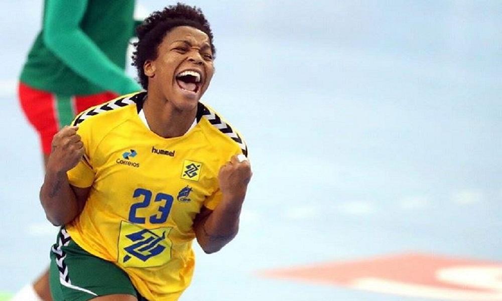 Dayane Rocha - seleção brasileira de handebol feminino - Jogos Olímpicos de Tóquio 2020