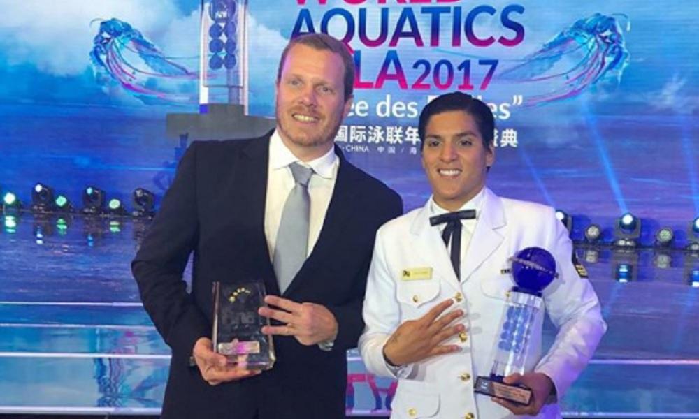 Ana Marcela Cunha é eleita melhor atleta do mundo de águas abertas