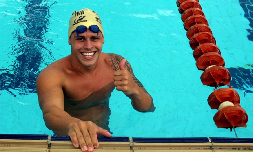 Pentatleta André Lima faz 3º tempo nos 200m livres no Rio