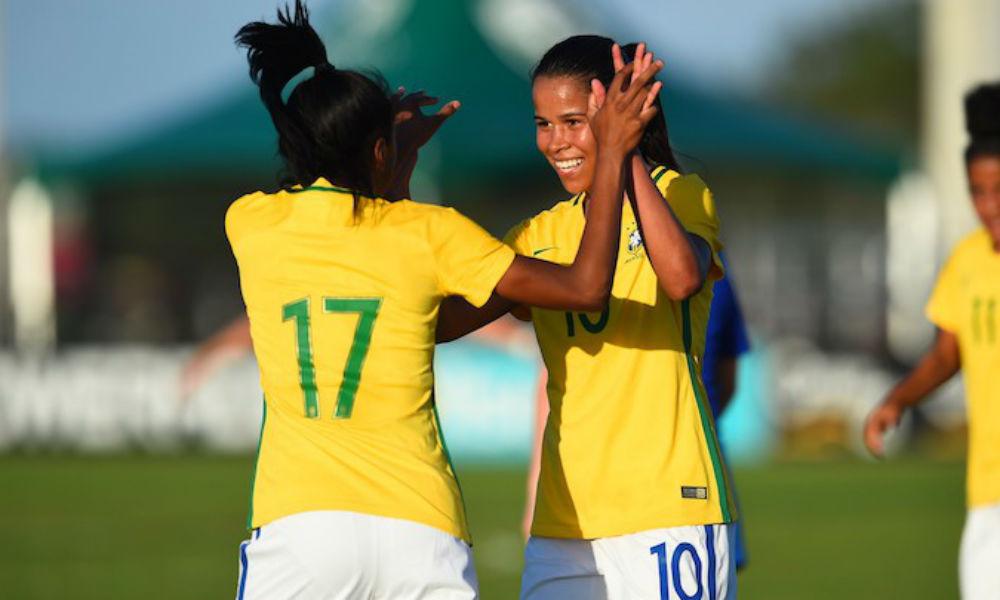 ilustração para Brasil vence o Chile na estreia do Sul-Americano Sub-20