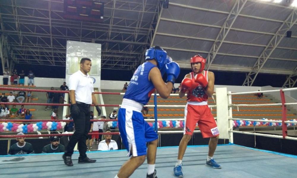 meça o 9º Campeonato Brasileiro de Boxe Masculino Juvenil