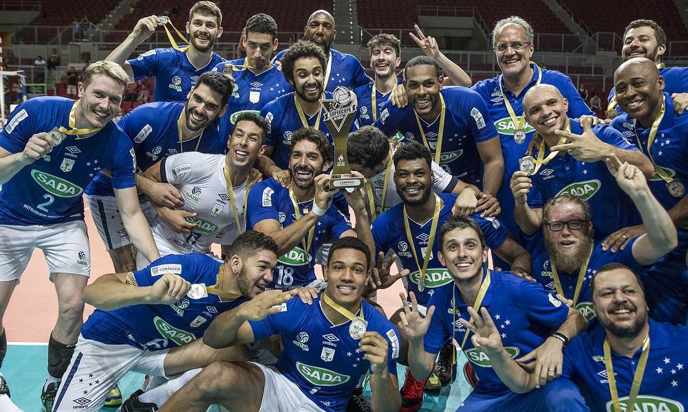 Cruzeiro domina cenário do vôlei masculino em 2017