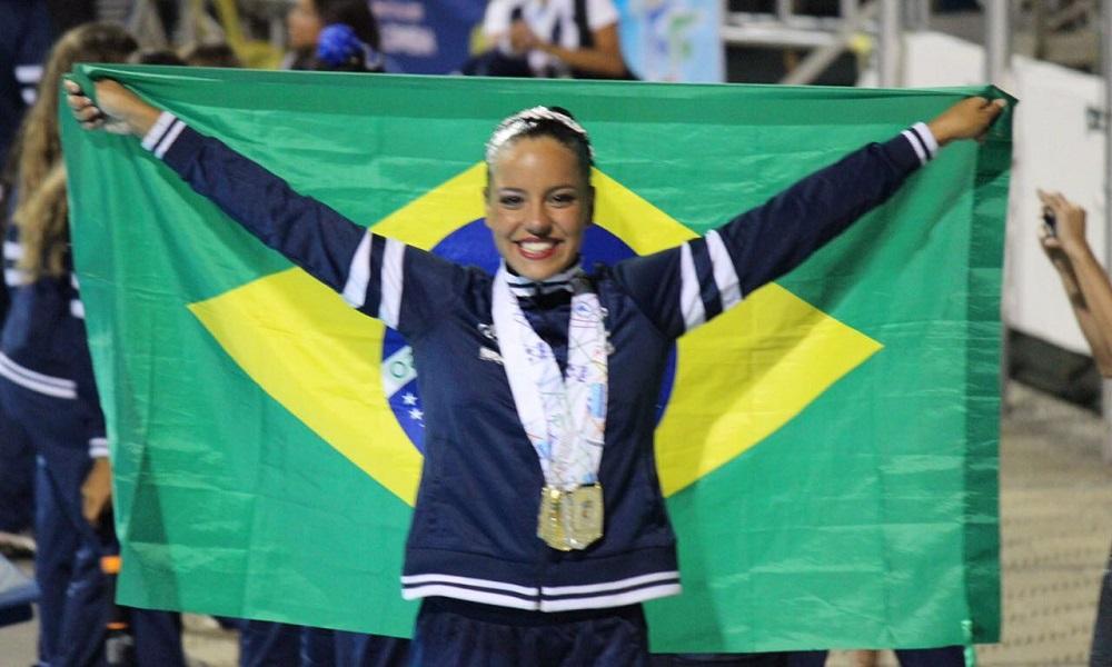 Jullia Catharino garante vaga na seleção brasileira júnior