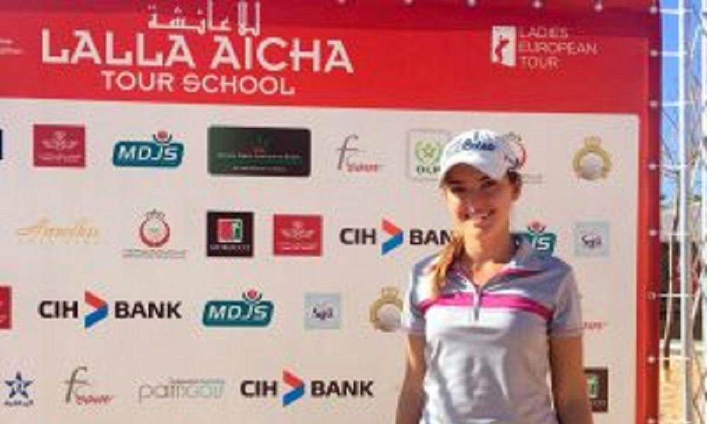Luiza Altmann garante vaga para o Ladies European Tour