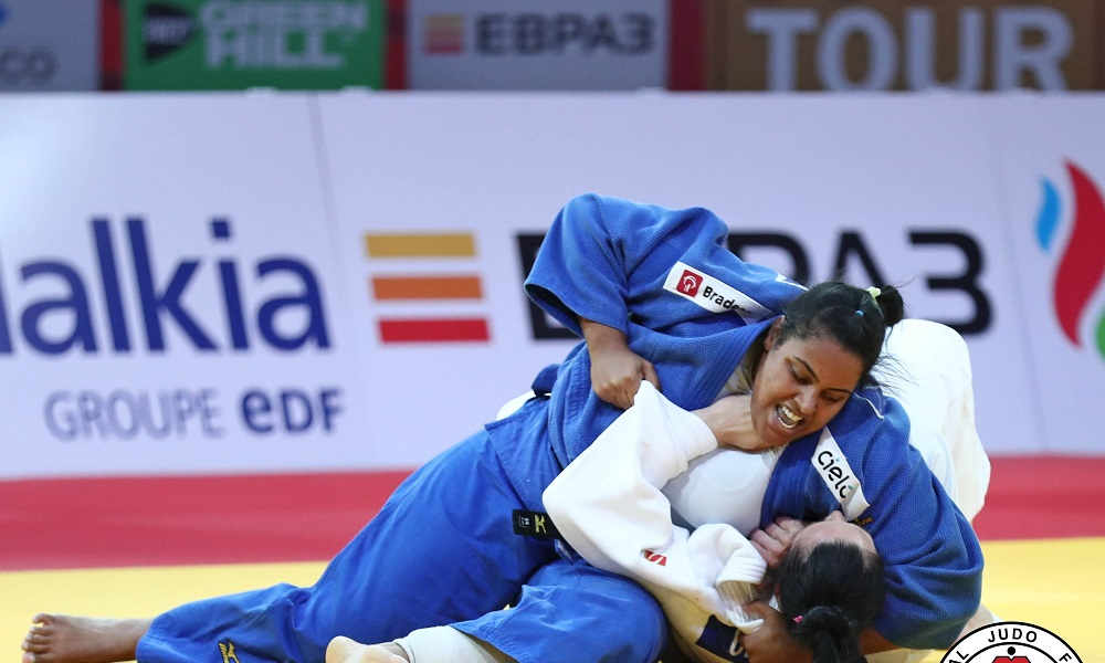 Conheça Maria Suelen, atleta do judô feminino que representará o Brasil nos Jogos Olímpicos de Tóquio 2020 no peso pesado (+78kg)