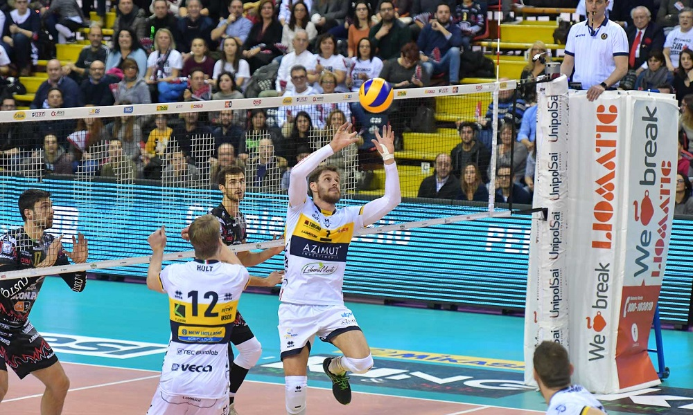 Modena e Castellana vencem no Italiano, time de Bruninho é 2º colocado
