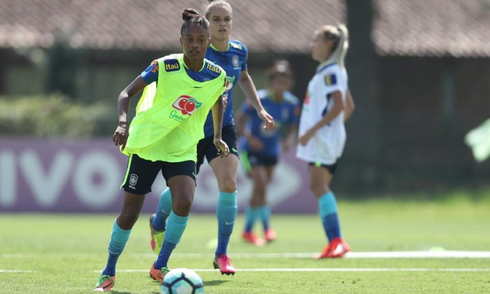 Seleção feminina encerra preparação para Sul-Americano