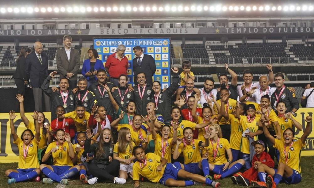 Seleção Feminina Sub-20 estreia no Sul-Americano contra Chile