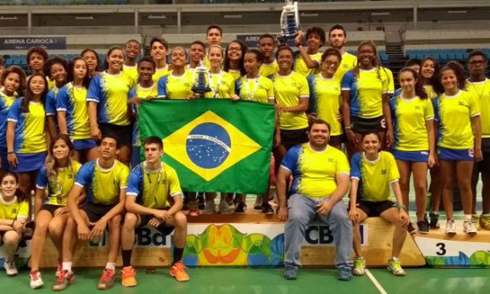 Brasil conquista o ouro no Sub-15 do Sul-Americano de Badminton a720119c5aa57