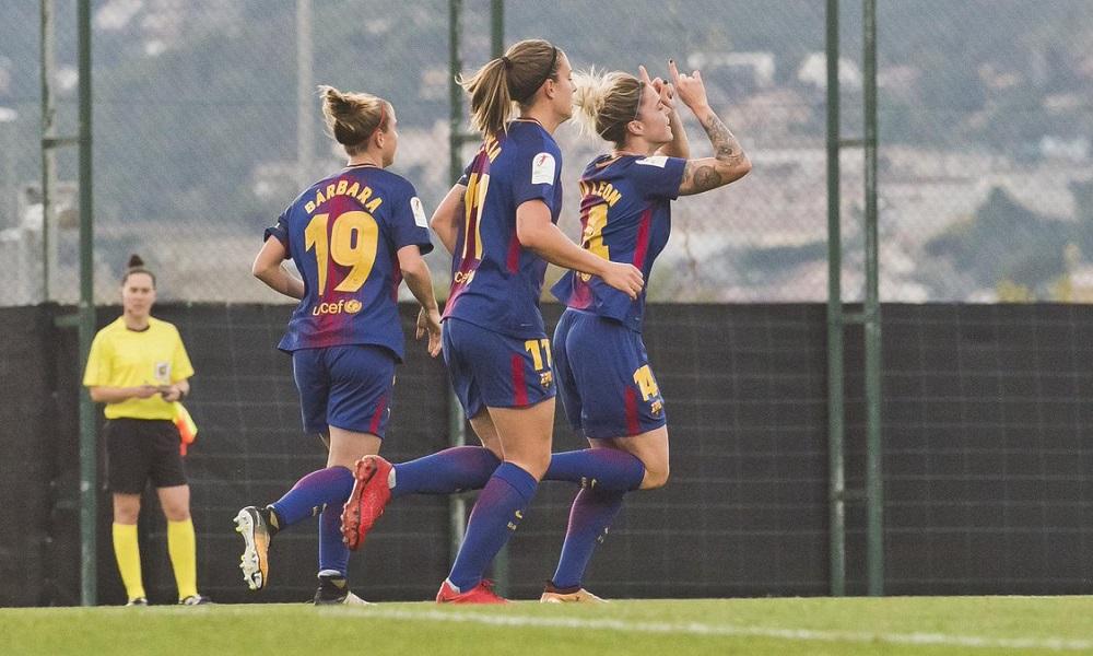 Andressa Alves entra no fim e Barcelona goleia no Espanhol