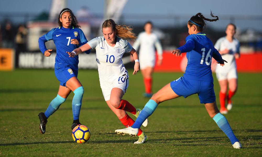 Seleção Feminina Sub-20 é superada pela Inglaterra nos EUA d706dc4887315