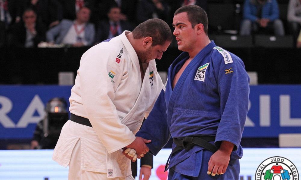 david moura e rafael silva do judô cancelamentos corrida olímpica coronavírus