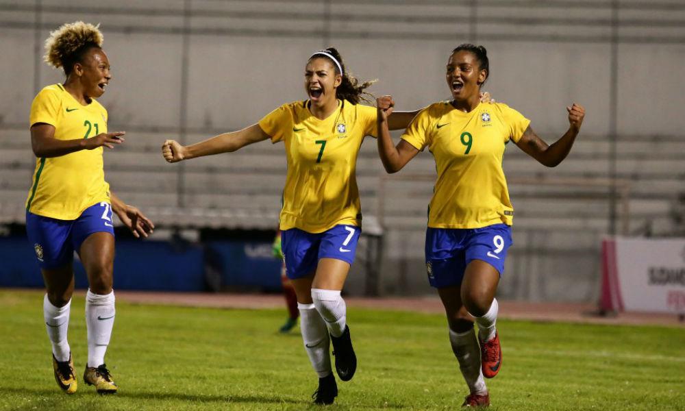 Brasil goleia Bolívia e termina 1ª fase com 100% no Sul-Americano de Futebol  Feminino Sub-20 88112f4ed2813