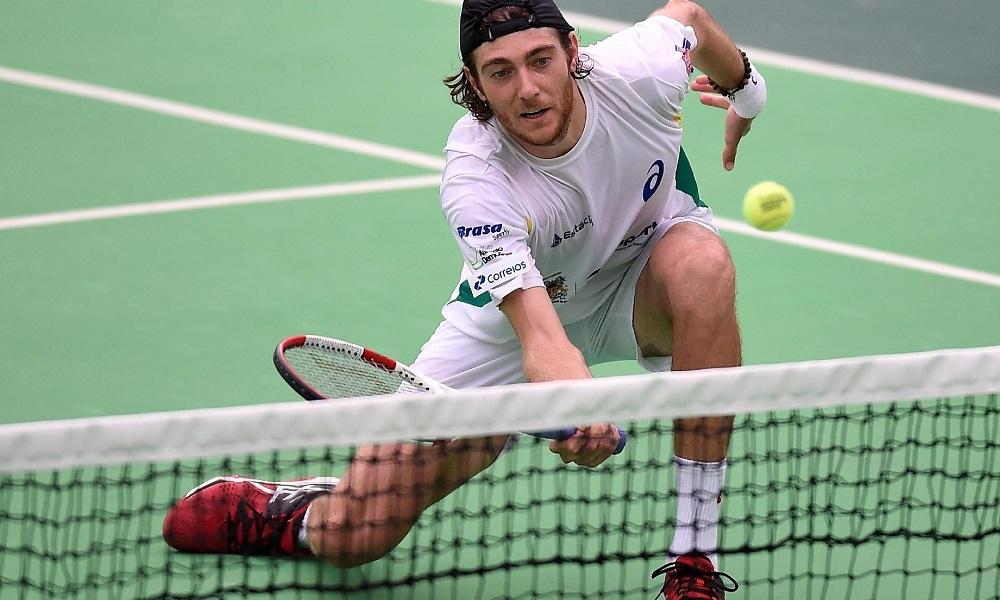 ilustração Marcelo Demoliner - Australian Open - Conheça Marcelo Demoliner, atleta da tênis masculino que representará o Brasil nos Jogos Olímpicos de Tóquio 2020 na chave de duplas masculinas