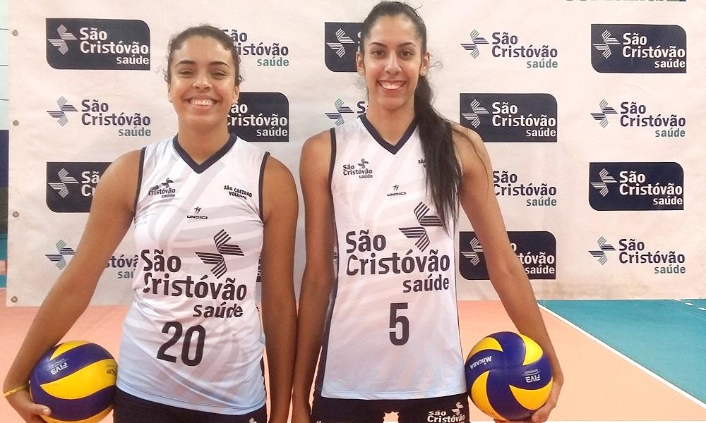 São Caetano apresenta Diana e Duda para Superliga