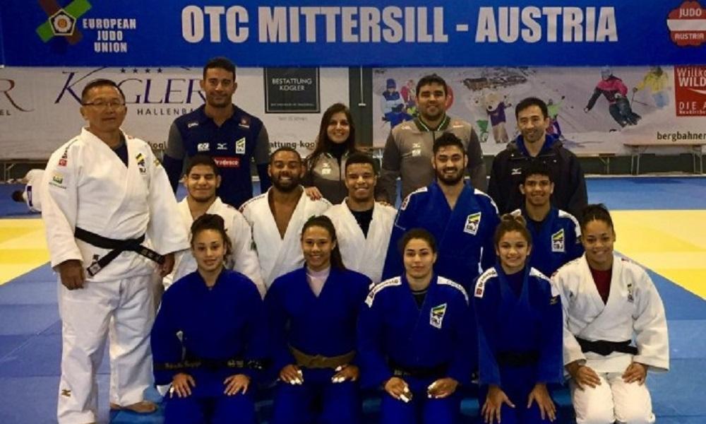 Equipe do Brasil treina na Áustria com elite do judô mundial