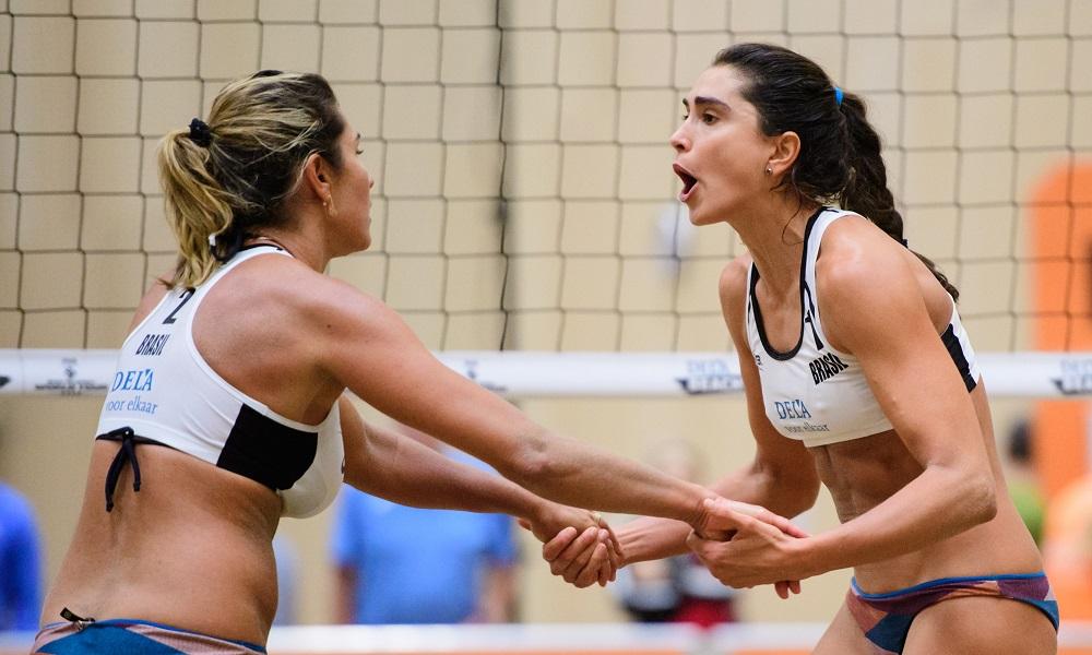 Brasileiros encerram fase de grupos em Haia com três vitórias