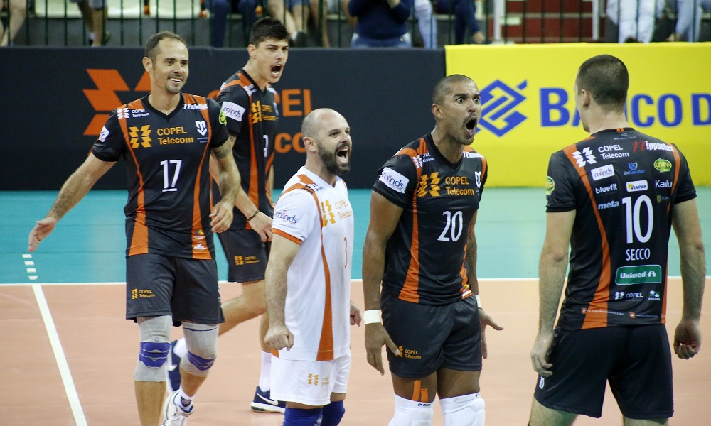 Maringá X Sesc-RJ - Superliga masculina de vôlei