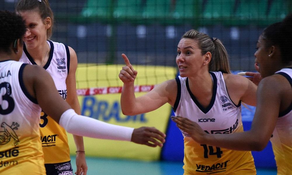 Osasco X São Caetano - Superliga feminina de vôlei