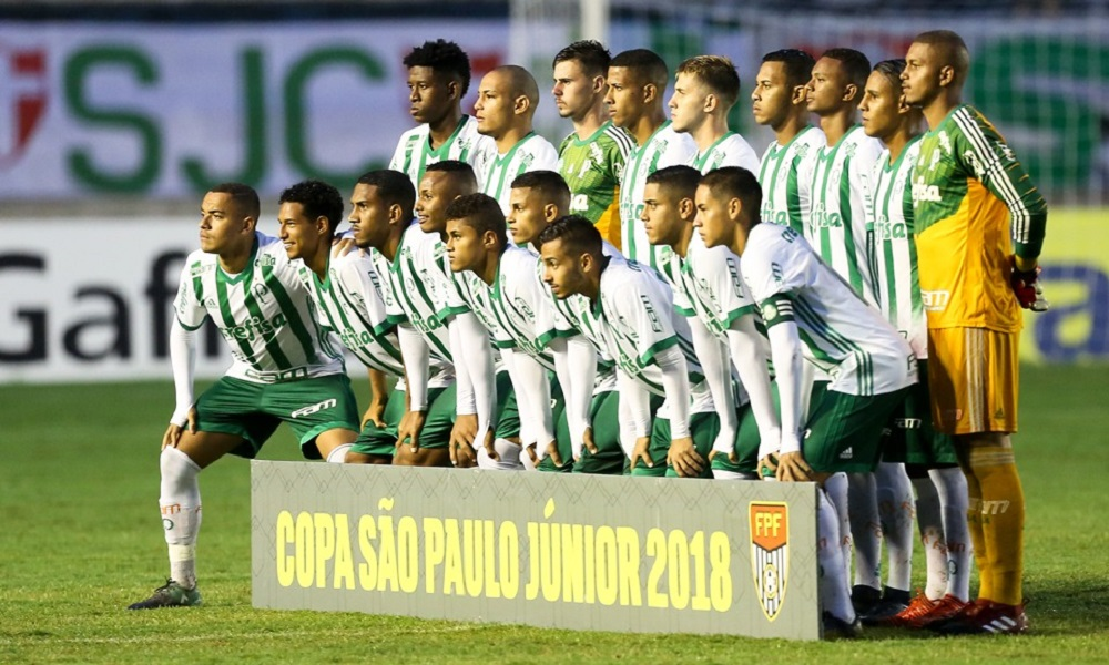 Palmeiras vence Botafogo-PB e se garante na 3ª fase da Copinha palmeiras x  vasco 64cfb00629ac5