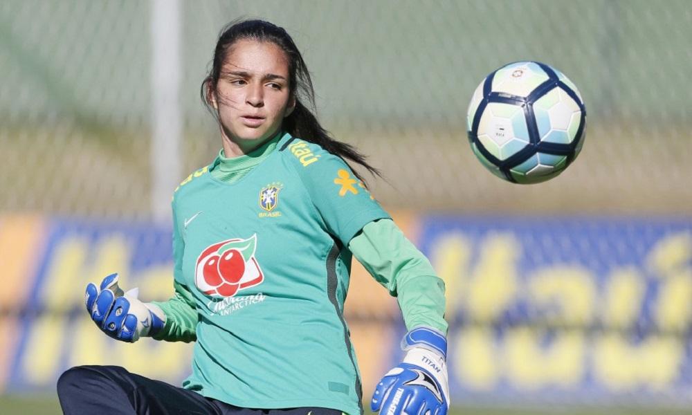 Seleção feminina Sub-17 treina visando o Sul-Americano