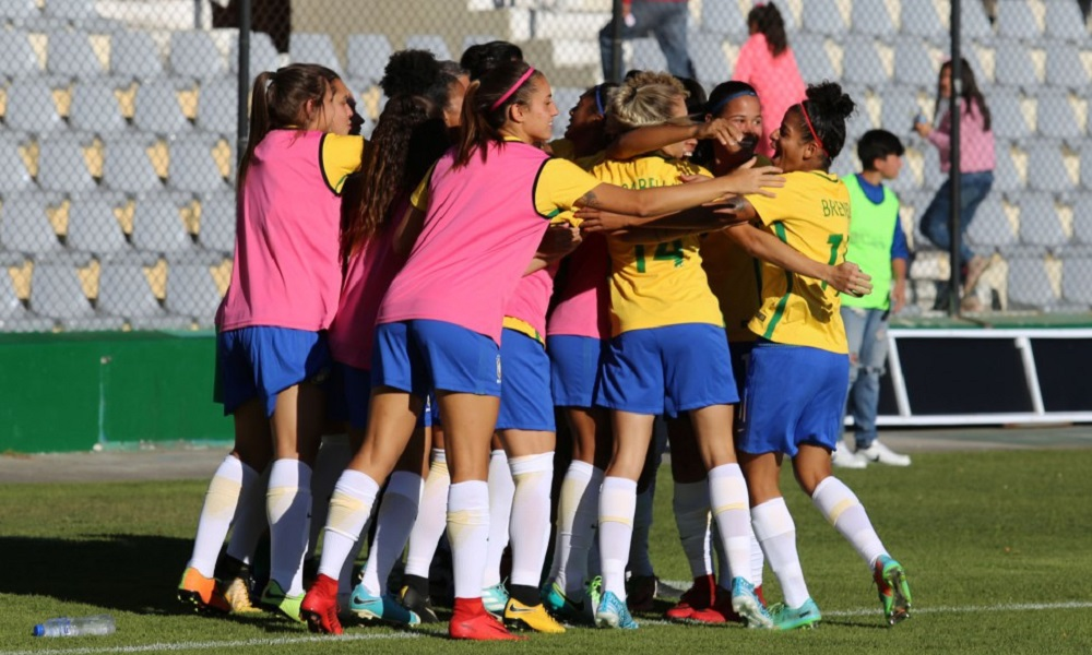 Paraguai X Brasil - Sul-Americano feminino Sub-20