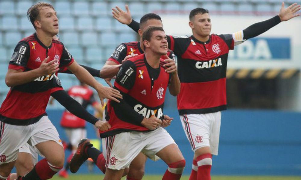 ilustração para Avaí X Flamengo - Copa São Paulo de Juniores