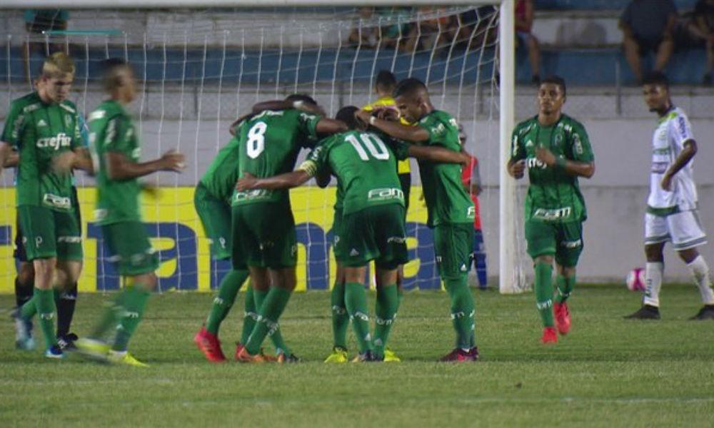 ilustração Palmeiras X Portuguesa - Copa São Paulo