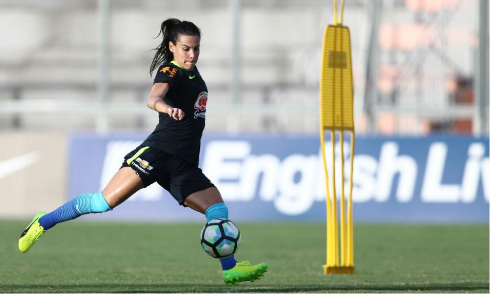 2616bf7c19 A Seleção Brasileira de Futebol Feminino se apresentou para os treinos  visando a preparação para a disputa da Copa América do Chile