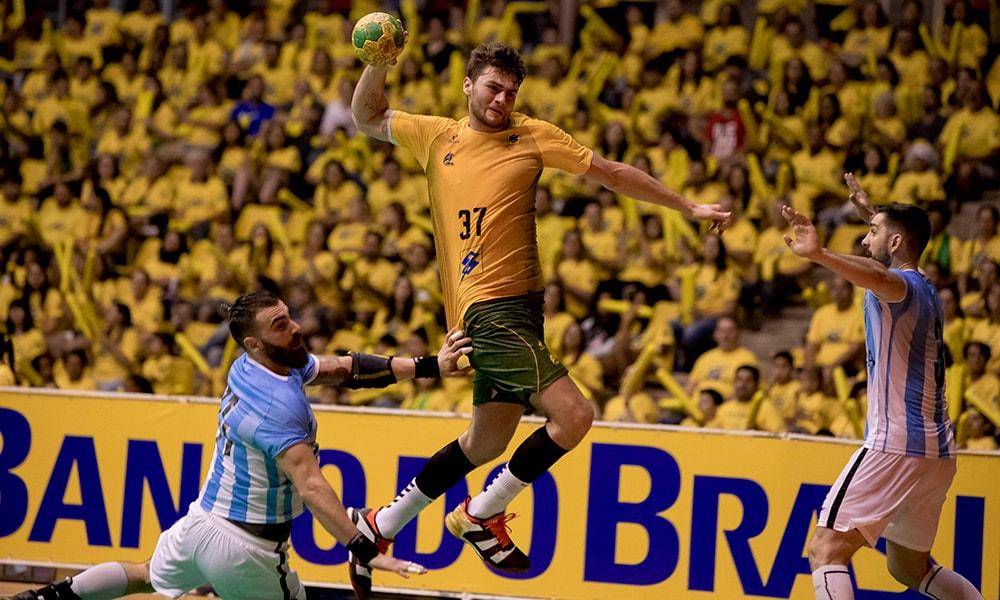 Haniel Langaro seleção brasileira de handebol masculino