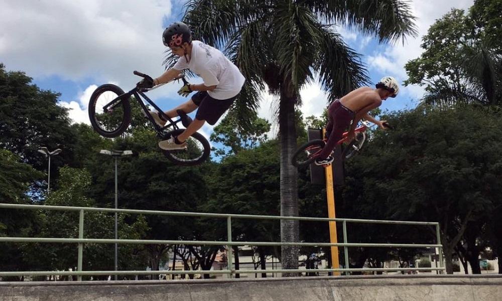 CBC acompanha treinos de atletas do BMX Park em São Paulo