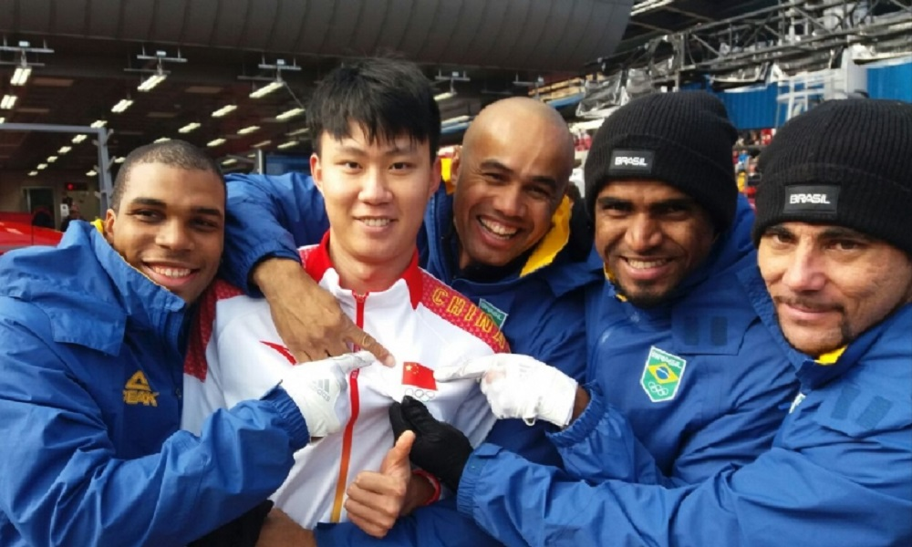 Bobsled encerra participação brasileira em PyeongChang 2018