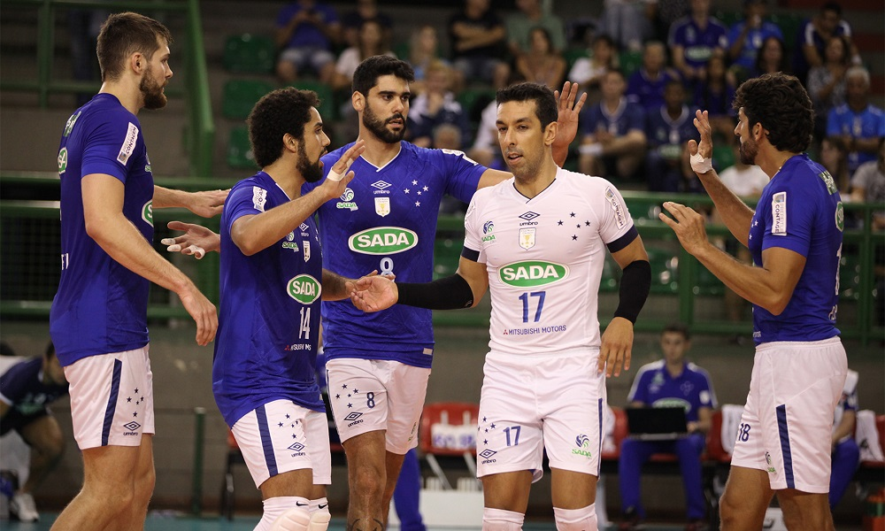 Vôlei  Cruzeiro vence Ponta Grossa e chega a 14 vitórias na Superliga 88ab72a57f446