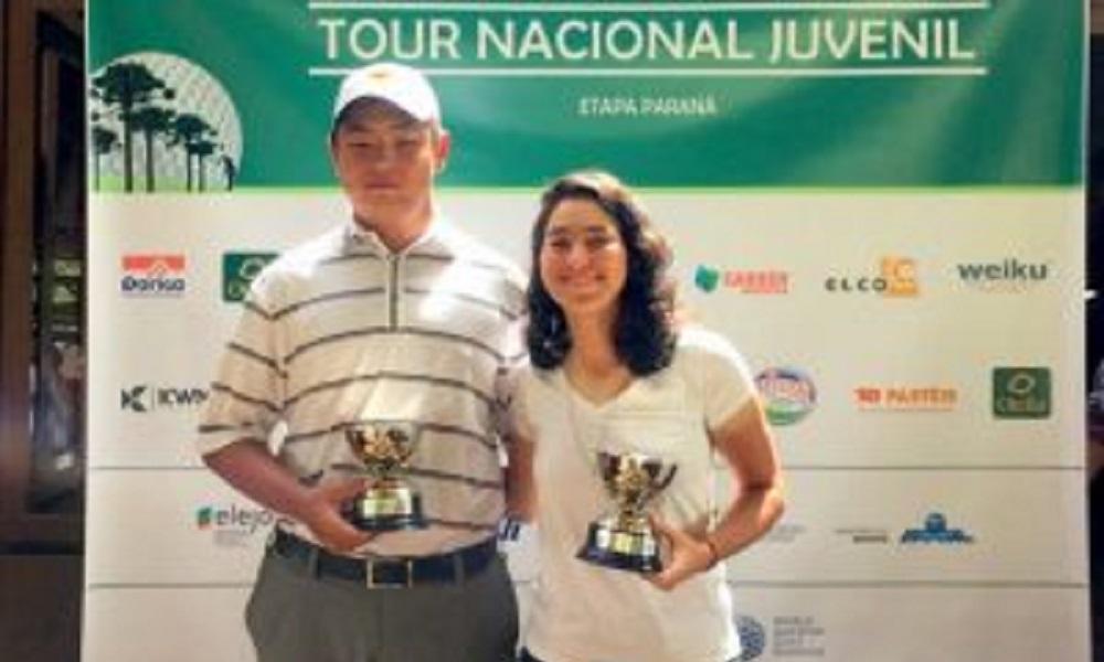 T. Choi e Laura Caetano vencem Tour Nacional Juvenil no Paraná