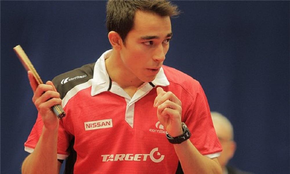 Hugo Calderano sobe mais uma posição no ranking mundial