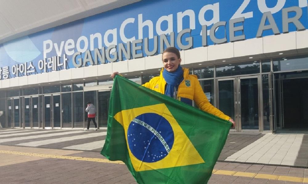 Isadora Williams fica em 24º lugar na patinação artística