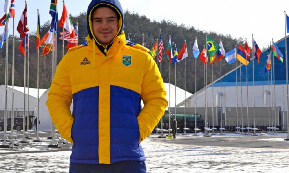 Michel Macedo encerra participação em PyeongChang nesta quarta