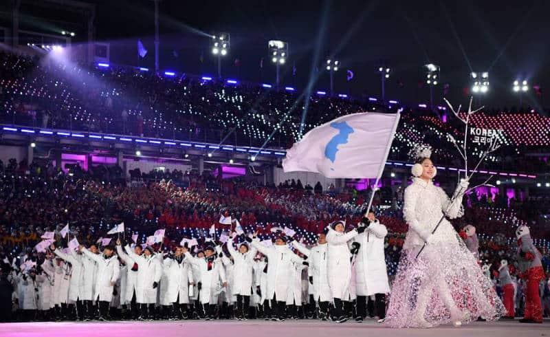 PyeongChang-2018 Coreia do Norte Coreia do Sul