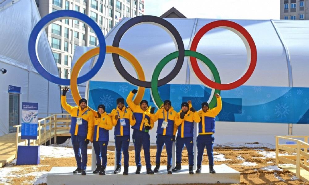 Brasil será o 33º país a desfilar na abertura de Pyeongchang 2018