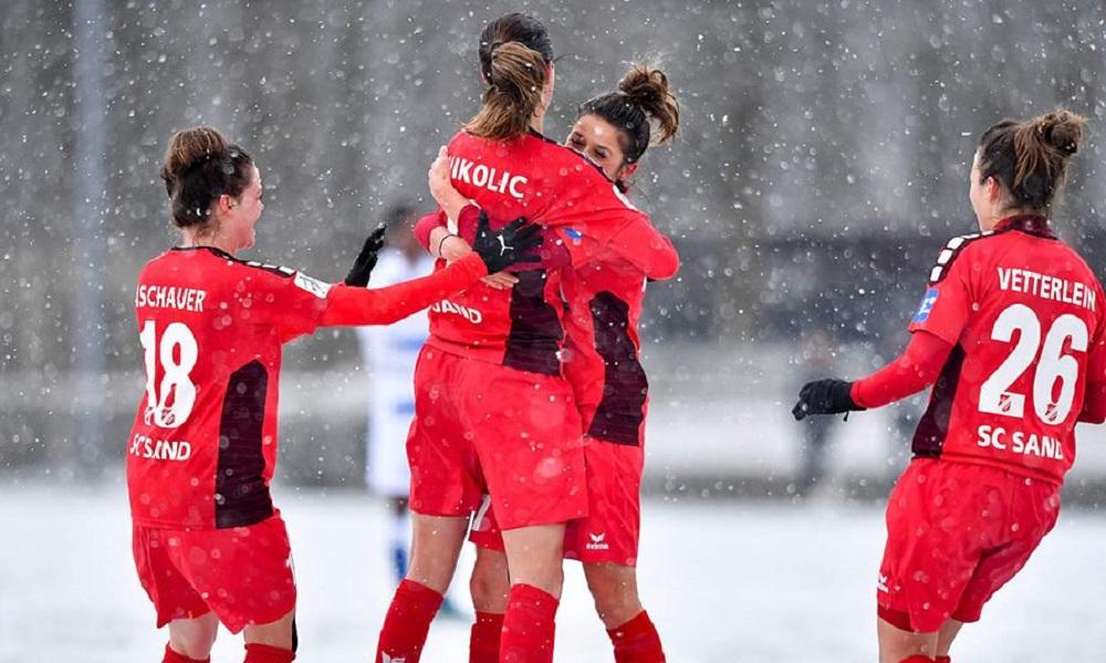 Sand vence na Bundesliga sem destaque de Letícia Santos