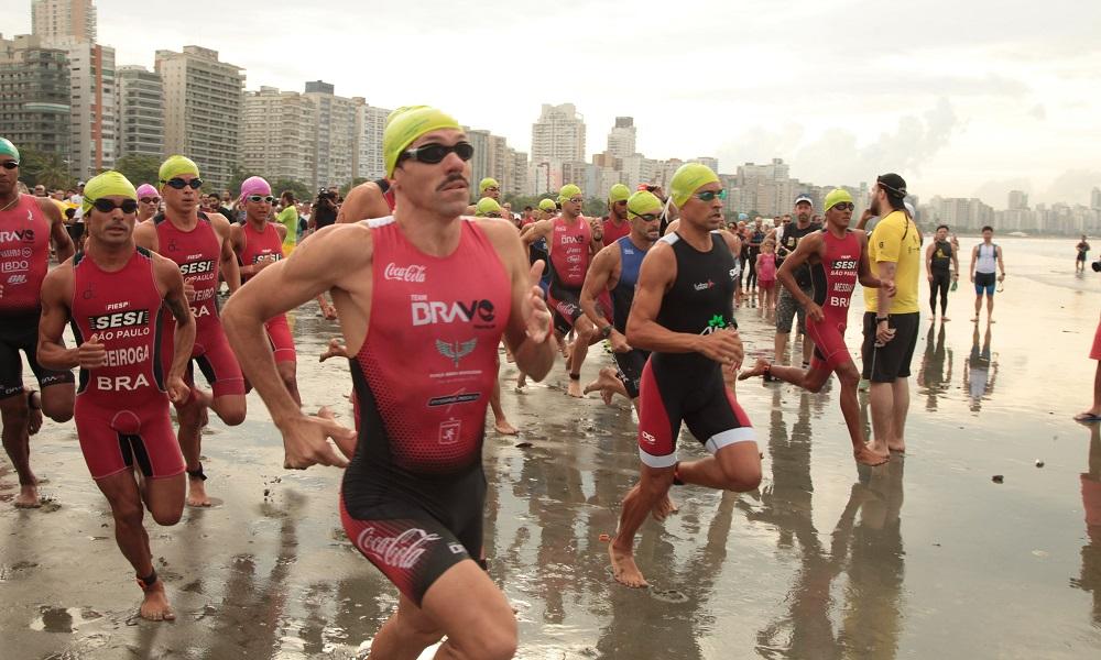 27ª Triathlon Internacional de Santos acontece neste domingo