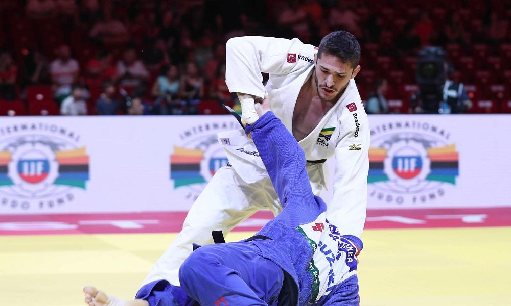 Brasil encera participação no Grand Slam de Paris sem medalhas