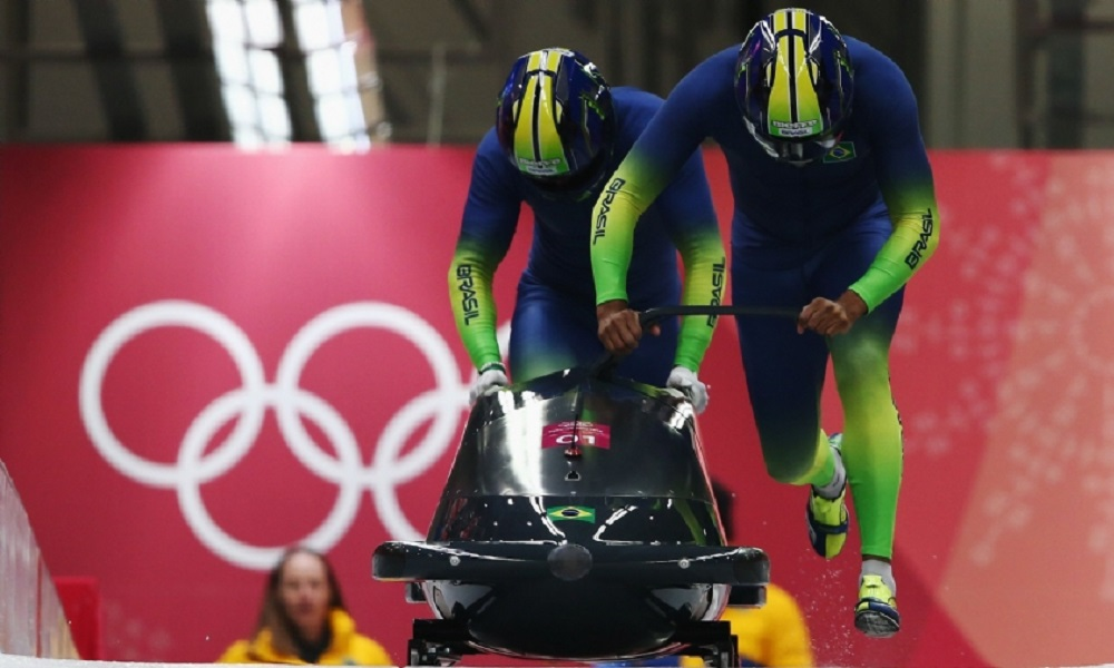 Brasil finaliza o bobsled 2-man na 27ª posição em PyeongChang