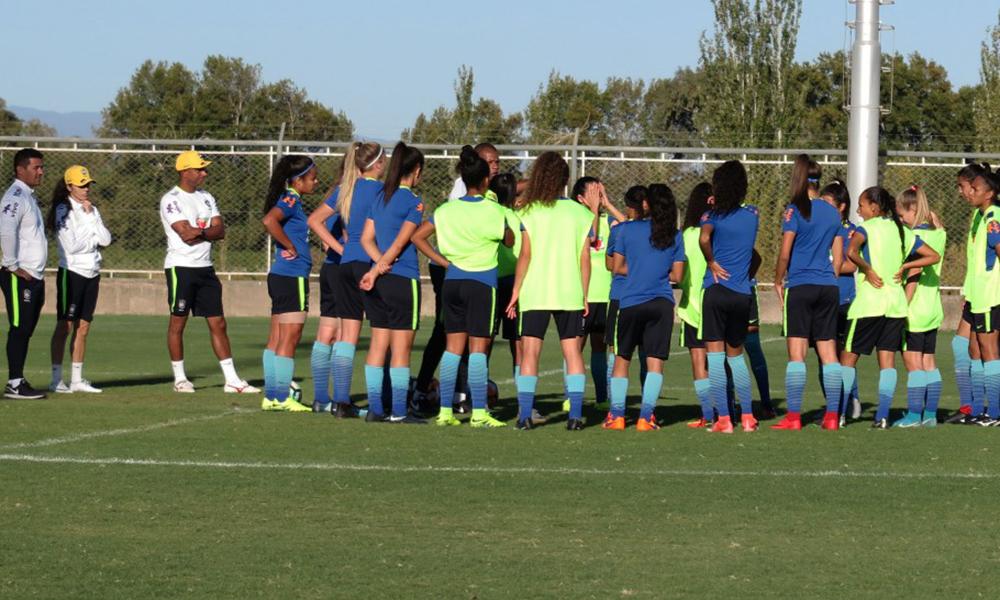 709acd5c20 Seleção Brasileira Feminina Sub-17 estreia no Torneio BRICs contra a China