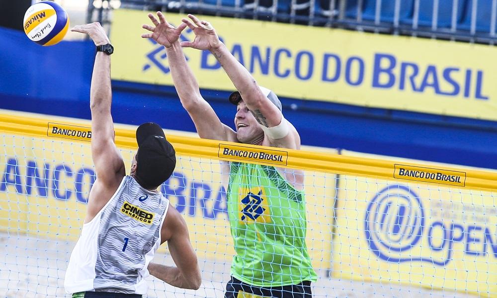 Oitavas de final do torneio masculino são definidas em Maceió