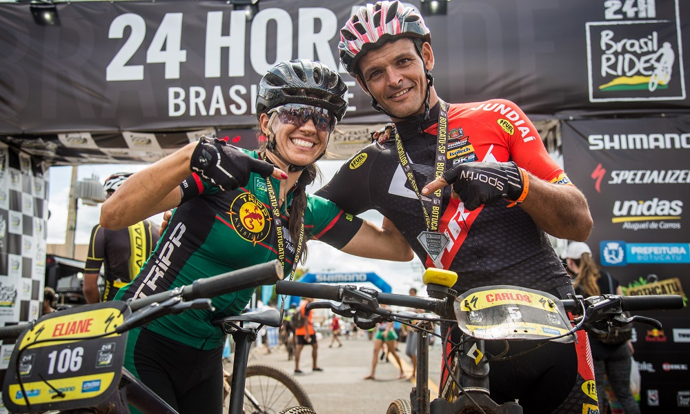 Carlos Henrique Paixão e Eliane Rezende vencem Brasil Ride