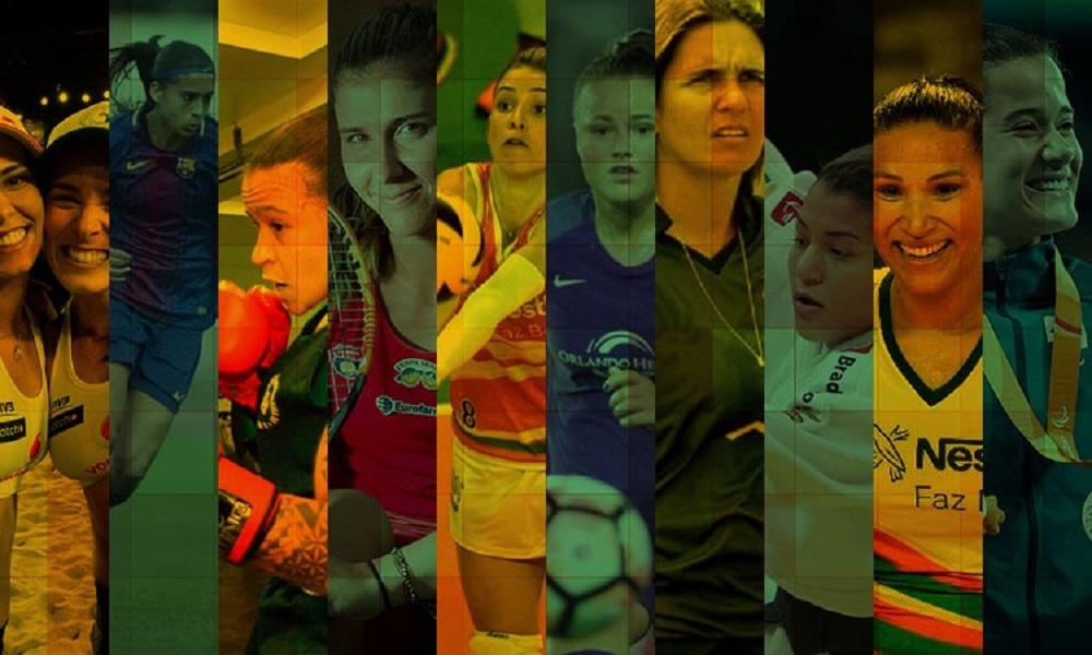 Dia Internacional da Mulher - esporte feminino