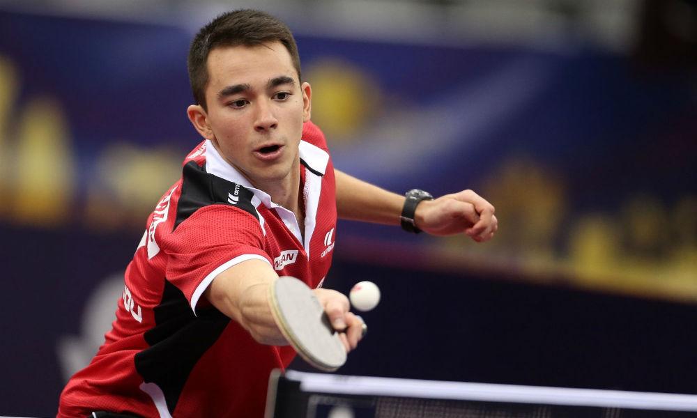 Técnico fala sobre evolução de Hugo Calderano no tênis de mesa