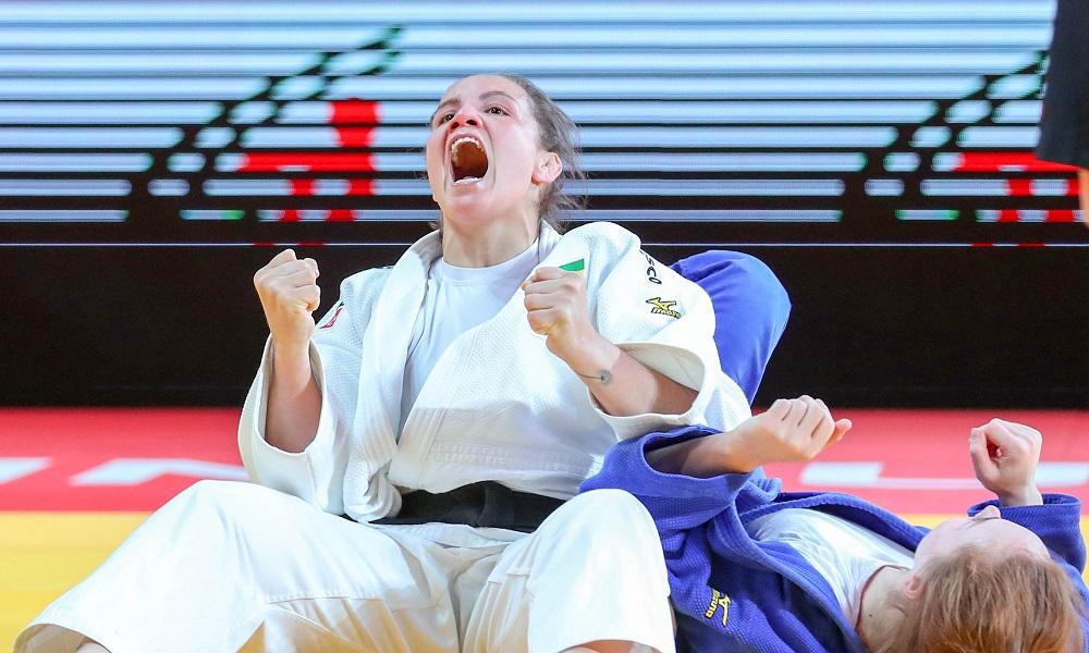 Maria Portela é a nova número um do mundo na categoria 70kg