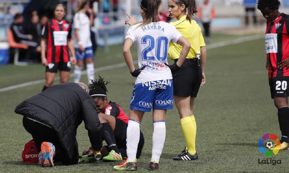 Com gol de Darlene, Zaragoza vence no Campeonato Espanhol